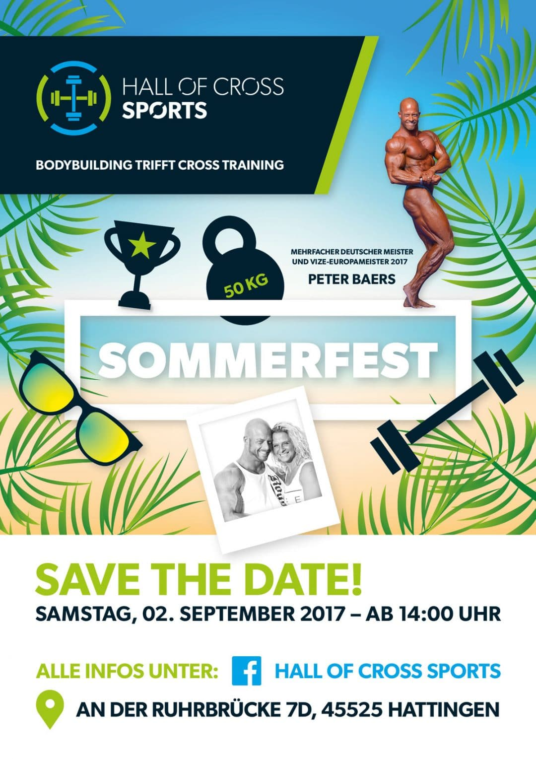 Hall of Cross Sports Sommerfest